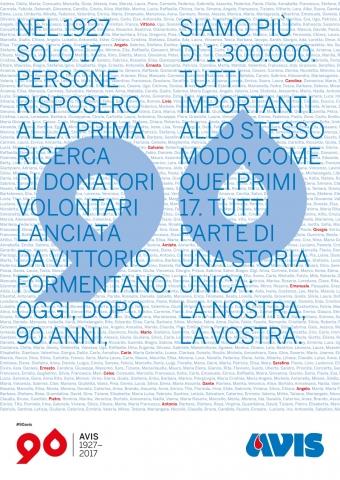 Presentate a Montecitorio le iniziative per il 90° di Avis Nazionale #90Avis
