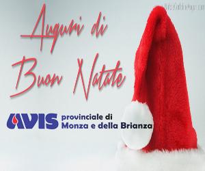 Gli auguri di Buon Natale e Buon Anno di Avis provinciale