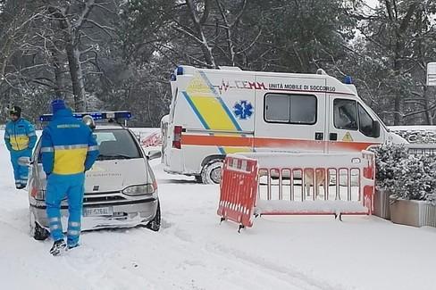 Emergenza Abruzzo, arriva dalla Lombardia la scorta di sangue per le emergenze