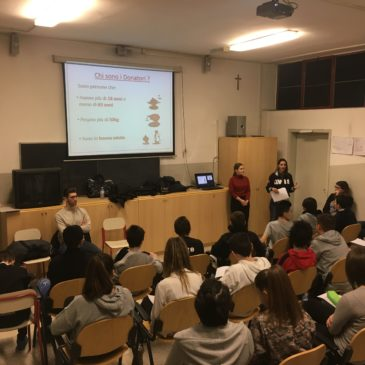 Partito da Barlassina il Progetto Scuola 2017 con Sara Re Sartò