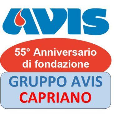 E' festa a Capriano per il 55° dell'Avis locale
