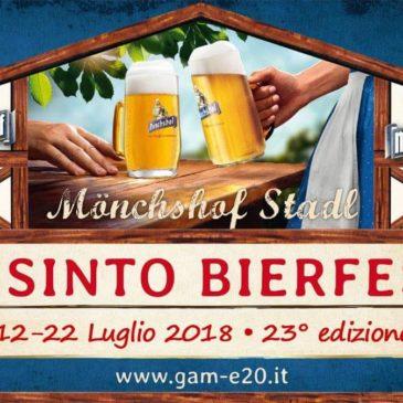 Alla Festa della Birra di Misinto presente anche il Gruppo Avis Giovani