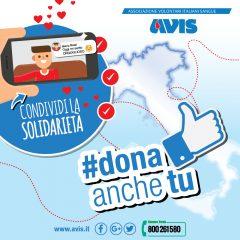 #Donaanchetu campagna social di Avis per l'estate