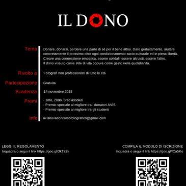 Avis Nova Milanese, arriva il concorso fotografico Il Dono