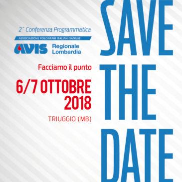A Triuggio la 2° Conferenza programmatica di Avis Lombardia