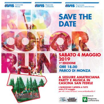 A Monza arriva la Red Color Run: preparatevi