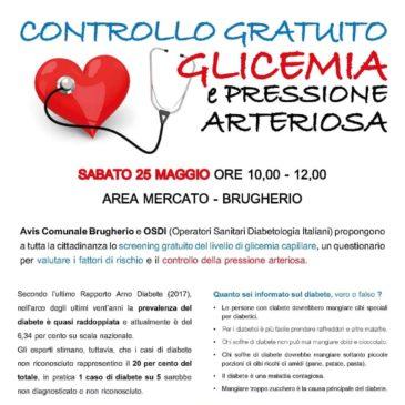 Avis Brugherio, lotta aperta al diabete