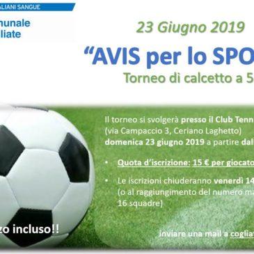 """A Cogliate """"AVIS per Lo Sport"""""""
