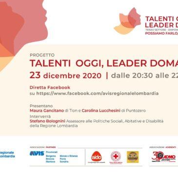 Talenti oggi, leader domani