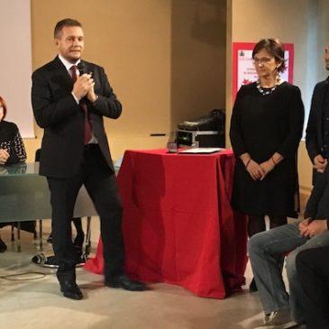 Il consigliere provinciale Diego Cereda è cittadino benemerito di Arcore