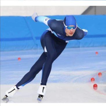 Riccardo Lorello, testimonial AvisProvincialeMb campione di pattinaggio, conquista la medaglia di bronzo al debutto su ghiaccio