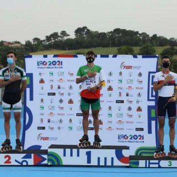 Riccardo Lorello, testimonial da podio